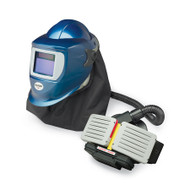 EZ Air Pro PAPR Shield with Blue Welding Helmet 9934-W