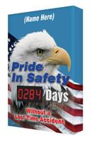 Digi Day Safety Scoreboard | Pride in Safety| Semi Custom  SCA284 Accuform