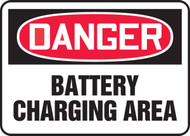 Danger - Battery Charging Area
