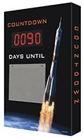 Countdown Scoreboard- Digi Day Plus- Rock Launch