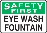 Safety First - Eye Wash Fountain