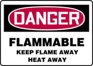 Flammable Keep Flame Away Heat Away