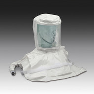 Double Bib Pharmaceutical Saran Respirator Hood w/Air Temp.Controller- High Pressure