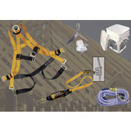 Titan Ready Roofer Fall Protection System w/ 25 ft. Rope