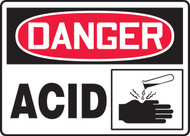 Danger - Acid Sign with Graphic