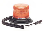 Ecco Medium Duty Strobe Light- Amber/ Vacuum Mount