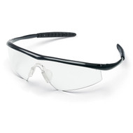Safety Glasses - Crews Tremor  Onyx Frame- Clear Lens (12 Pair)