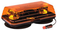 Ecco Mini-Light Bar  Amber /Vacuum Mount