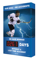 Digi Day Plus Safety Scoreboards for Outdoor Use Hockey SCM383