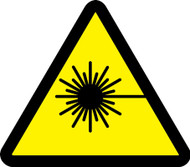 MISO364VP ISO warning sign- Laser hazard sign