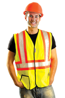 Safety Vest Class 2 Solid Two Tone Medium