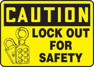 Caution - Lock Out For Safety