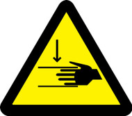 MISO314 ISO Safety Sign Crush Hazard Sign