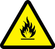 MISO358 ISO Safety sign0 Fire Hazard Sign