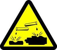 Corrosive-Acid Hazard
