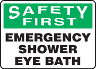 Safety First - Emergency Shower Eye Bath