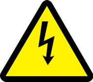 MISO346VP ISO Safety Sign- Electric Voltage Hazard Sign