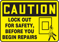 Lockout For Safety Before You Begin Repairs
