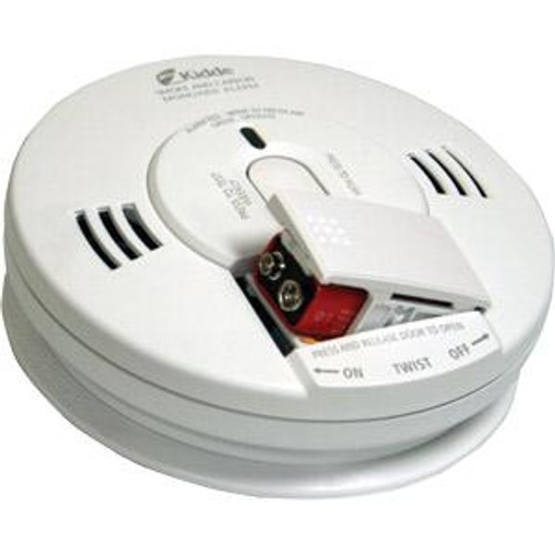 Kidde Carbon Monoxide/ Smoke Alarm Combo with Photoelectric Sensor and Battery Backup