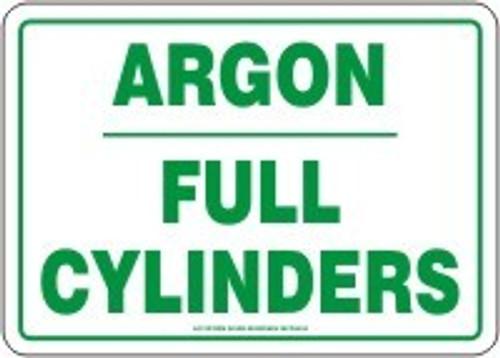 Argon Full Cylinders