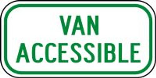 (Ohio) Van Accessible Sign