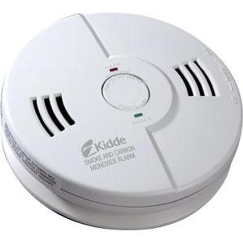 Carbon Monoxide/Smoke Detector Combo Alarm Nighthawk (AC/DC)- Interconectable