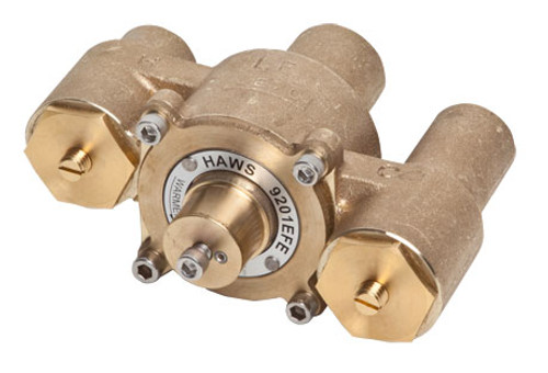 Haws 9201EFE thermostatic mixing valve
