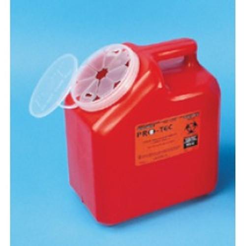 Needles Disposal Container, 1 Gallon -2 per order