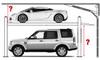 Bendpak HD-9 9,000-Lb. Capacity Standard Width 4 Post Car Lift