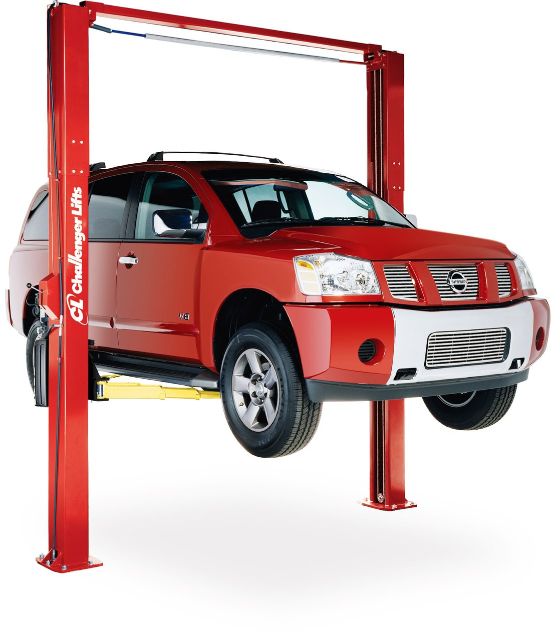10000 Lb Car Lift >> Challenger Lifts LE10 Symmetric/Asymmetric Two Post Car Lift | JMCAutomotiveEquipment.com
