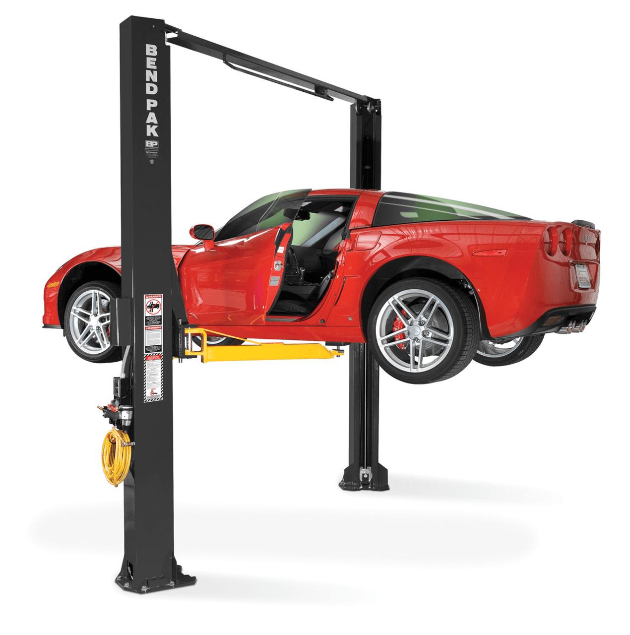 10000 Lb Car Lift >> Bendpak XPR-10AS-LP Dual-Width, 10,000 Lb. Low Profile Clearfloor 2 Post Car Lift