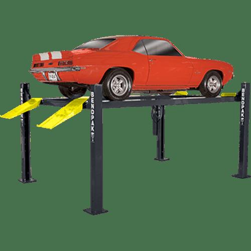 Bendpak HD-9ST 9,000-Lb. Capacity Narrow Width 4 Post Car Lift