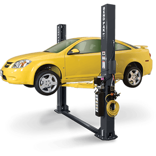 Challenger Clfp9 Two Post Floorplate Car Lift