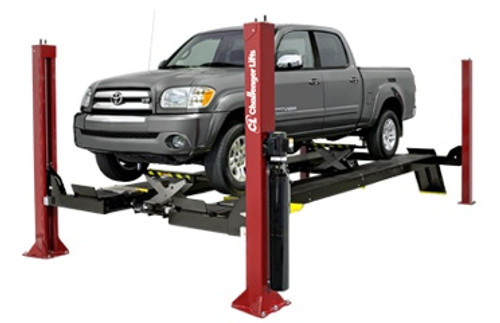 4 Post Car Lifts: Challenger Lifts 4015XFO Open Front XL Four Post Car Lift