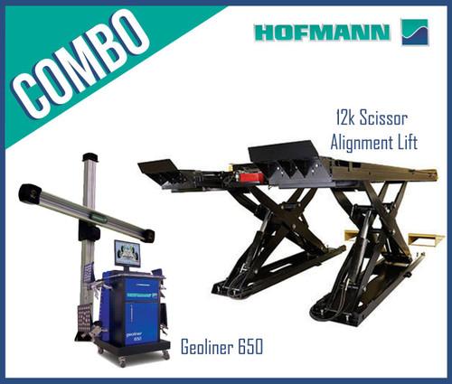 Hofmann 650COMBOS Geoliner 650 + 12k Scissor Alignment Equipment Package