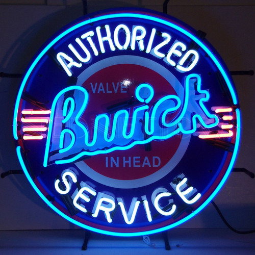 Neonetics 5BUIBK Buick Neon Sign With Backing