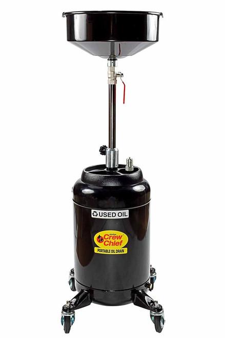 John Dow Industries Jdi 16dc E 16 Gallon Portable Oil Drain