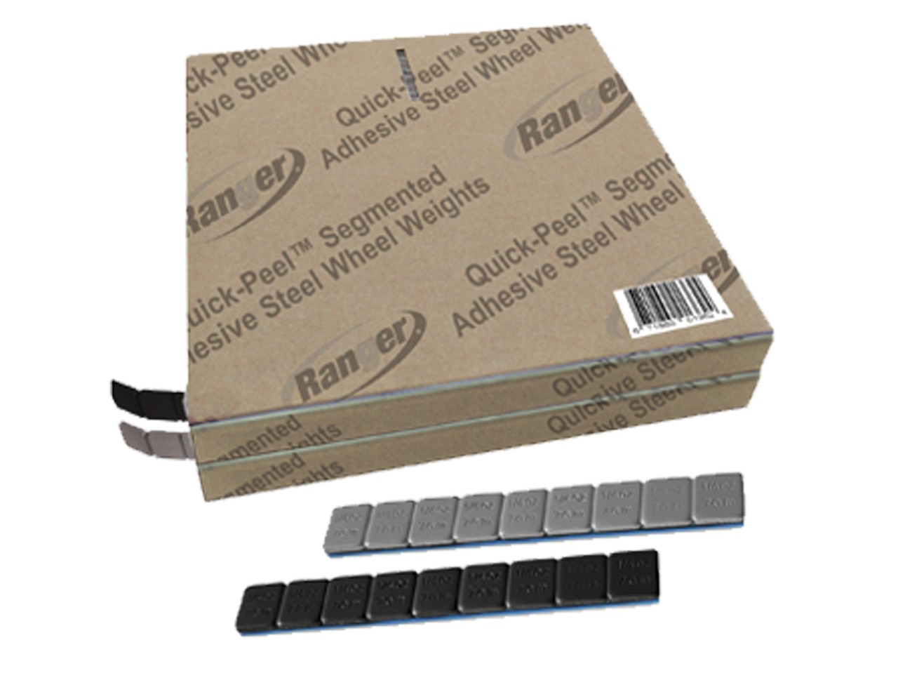 Ranger Adhesive Steel Wheel Weights / Combo / ROLLS