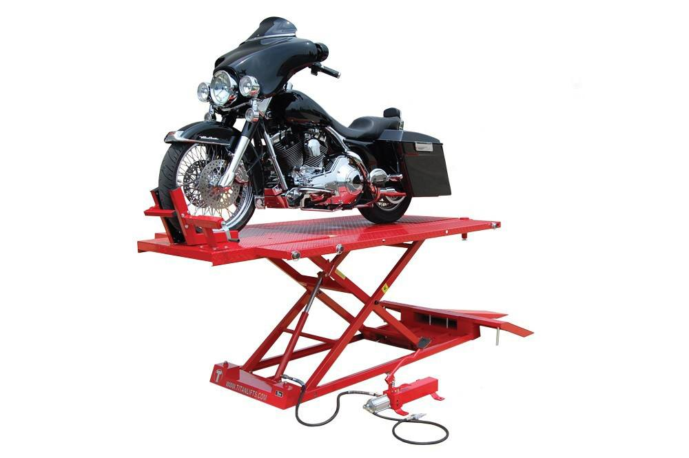 Titan Motorcycle Lifts: The Lift Professionals Use