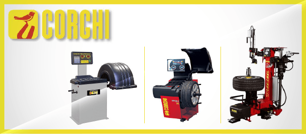 Corghi Top-of-the-Line Tire Changers & Wheel Balancers