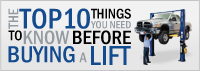 Top 10 Car Lift Buying Guide