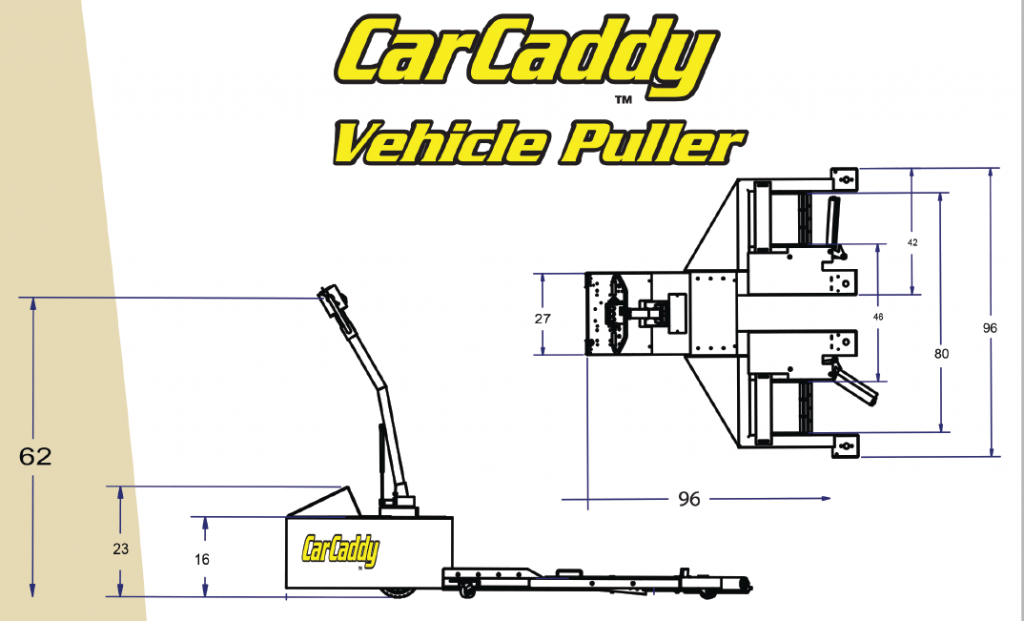 Car Caddy VP - Motorized Vehicle Puller