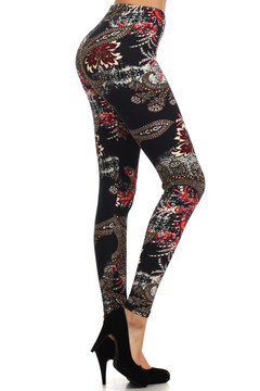 Dainty Floral Bloom Leggings