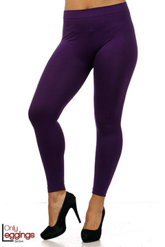 Full Length Seamless Leggings - Plus Size