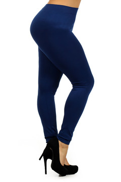 Luxe Seamless Leggings - Plus Size