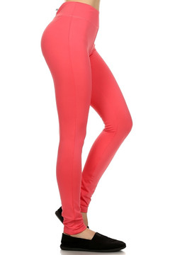 Back Pocket Zipper Sport Leggings