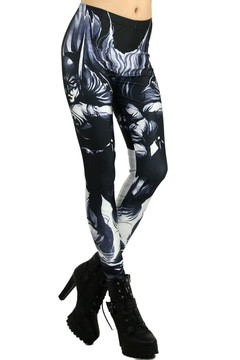 Black Gotham Leggings - Plus Size