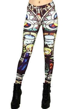 Mosaic Glass Leggings