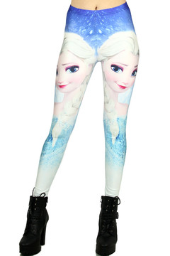 Princess Elsa Leggings