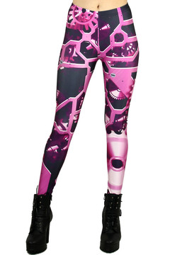 Pink Machinery Leggings